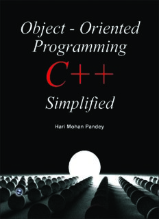 Object-Oriented Programming C++ Simplified