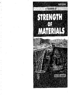 Strength of materials 4th ed