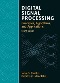 Digital Signal Processing (4th Ed) [OCR]