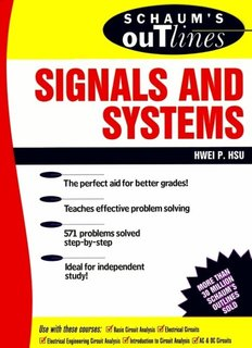 Schaum's Outlines of Signals & Systems (Ripped by - Ninova