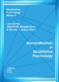Generalization in Qualitative Psychology