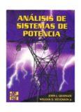 Análisis de Sistemas de Potencia