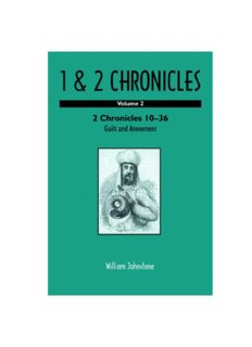 1 and 2 Chronicles: Volume 2: 2 Chronicles 10-36: Guilt and Atonement