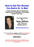 Speed Seduction: Magic or Mechanics - Ross Jeffries The Game
