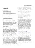 Makers - Cory Doctorow's craphound.com