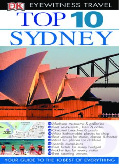 Top 10 Sydney (Eyewitness Top 10 Travel Guides)