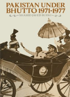 Pakistan under Bhutto, 1971–1977