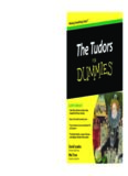 The Tudors For Dummies (For Dummies (History, Biography & Politics)