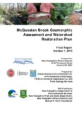 McQuesten Brook Geomorphic Assessment and Watershed Restoration Plan