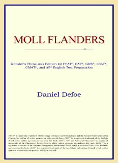 Moll Flanders (Webster's Thesaurus Edition)