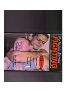 No Holds Barred Fighting: The Ultimate Guide to Submission Wrestling  Martial Arts   Self Defense