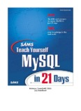 Sam's Teach Yourself MySQL in 21 Days - Web Based Programming