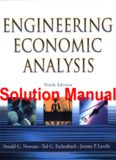 Engineering Economic Analysis, Solutions