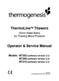 ThermoLine™ Thawers Operator & Service Manual - Helmer