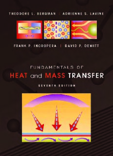 Fundamentals of Heat and Mass Transfer 7th Edition - Incropera, Dewitt