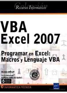 Manual VBA Excel 2007