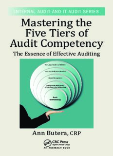 Mastering the Five Tiers of Audit Competency: The Essence of Effective Auditing
