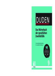 Duden - Richtiges und gutes Deutsch: Das Wörterbuch der sprachlichen Zweifelsfälle. Band 9