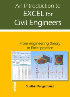 An Introduction to Excel for Civil Engineers: From engineering theory to Excel practice