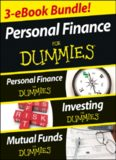 Personal finance for dummies (three ebook bundle): Personal finance for dummies, Investing for dummies, Mutual funds for dummies