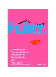 Flirt coach : how to flirt for friendship, love and professional success