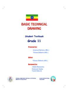 BASIC TECHNICAL DRAWING Grade 11