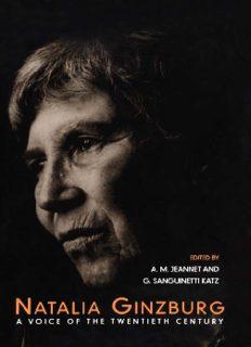 Natalia Ginzburg: A Voice of the Twentieth Century