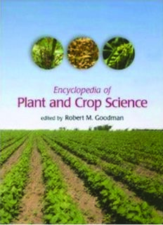 Encyclopedia of Plant and Crop Science (Print) (ENCYCLOPEDIA OF PLANT & CROP SCIENCE)