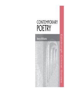 Contemporary Poetry