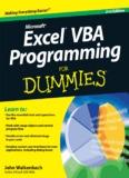 Microsoft Excel VBA Programming for Dummies 2010.pdf - DASCO