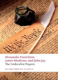 The Federalist Papers (Oxford World's Classics)