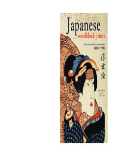 Japanese Woodblock Prints  Artists, Publishers and Masterworks  1680 - 1900