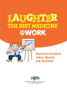 Laughter Is the Best Medicine @ Work by Reader's Digest