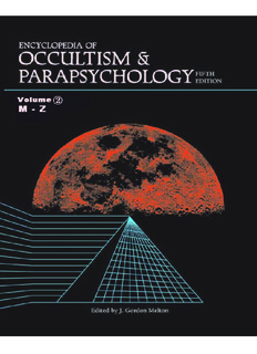 Encyclopedia of Occultism and Parapsychology - Ursi's Eso