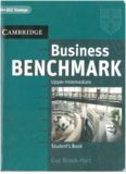 Business Benchmark Upper-Intermediate Student's Book - BEC Vantage edition