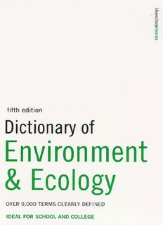 Collin S.M.-Dictionary of Environment & Ecology.pdf