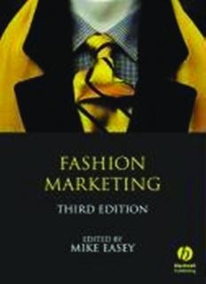 Fashion Marketing, Third Edition