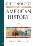 Chronology of American History, 4-Volume Set (Facts on File Library of American History)