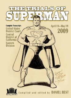 The Trials of Superman - adelaide comics and books