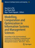 Modelling, Computation and Optimization in Information Systems and Management Sciences: Proceedings of the 3rd International Conference on Modelling, Computation and Optimization in Information Systems and Management Sciences - MCO 2015 - Part II
