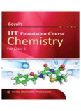 Goyal's IIT Foundation Course: Chemistry for Class 6