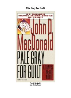 Pale Gray for Guilt (Travis McGee Mysteries 09)