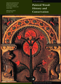 Painted Wood: History and Conservation