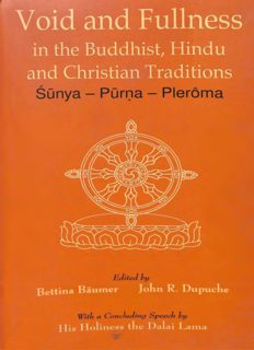 Void and fullness in the Buddhist, Hindu and Christian traditions Śūnya - Pūrṇa - Plerôma ; [papers presented at an inter-religious retreat seminar organized by the Abhishiktananda Society, Delhi, held in Sarnath, Varanasi, from December 11 to 16, 19