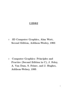 3D Computer Graphics, Alan Watt, Second Edition, Addison