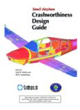 Crashworthiness Design Guide Small Airplane Small Airplane