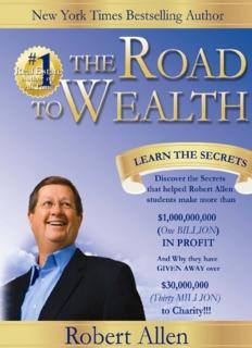 The Road to Wealth by Robert G. Allen
