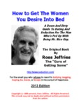 How To Get The Women You Desire Into Bed (PDF Format)