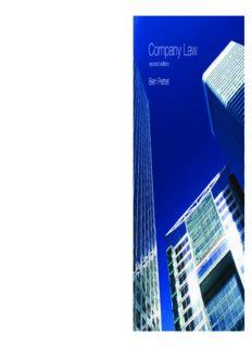Company Law, 2nd Edition (Longman Law Series)