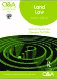 Q&A Land Law 2009-2010